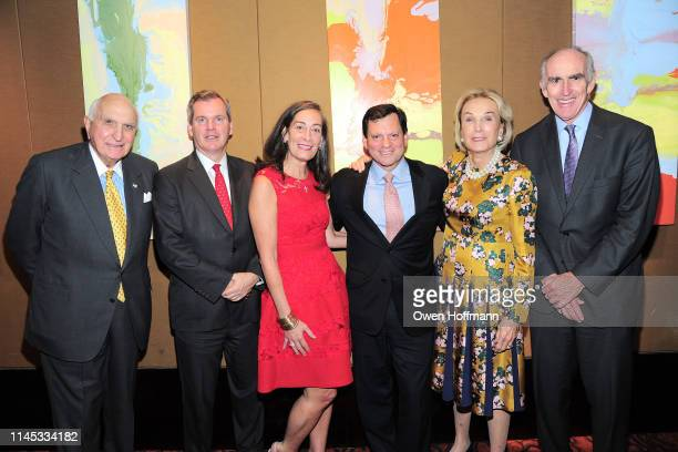 Ken Langone Bill Tyree Kathryn Tyree Frank Bisignano Elaine Langone and Dick Cashin attend BCNY Annual Awards Dinner at Mandarin Oriental on May 20...