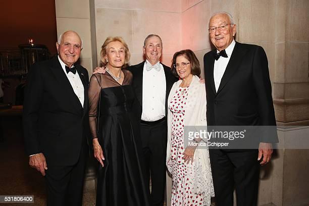 Ken Langone Elaine Langone Robert I Grossman Elisabeth Cohen and Paolo Fresco attend NYU Langone Medical Center's 2016 Violet Ball at the...