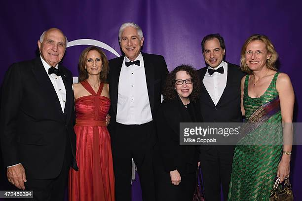 Ken Langone Kate Lear Jonathan LaPook and guests attend the NYU Langone Medical Center's 2015 Violet Ball on May 7 2015 in New York City