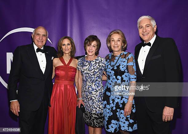Ken Langone Kate Lear Marianne Mebane Elaine Langone and Jonathan LaPook attend the NYU Langone Medical Center's 2015 Violet Ball on May 7 2015 in...