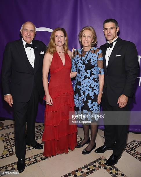 Ken Langone Meghan Mackay Elaine Langone and Allen Thorpe attend the NYU Langone Medical Center's 2015 Violet Ball on May 7 2015 in New York City