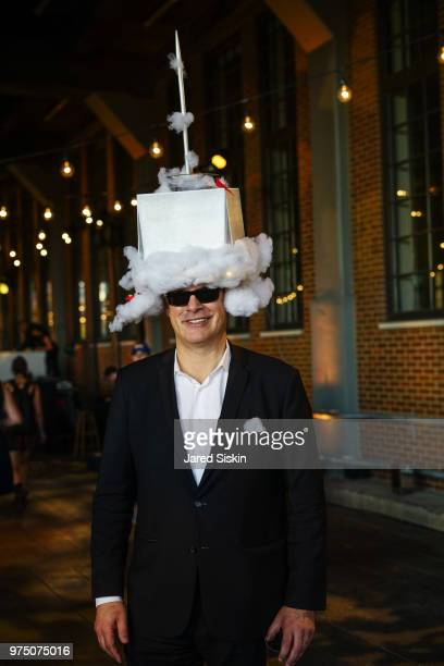 Ken Lewis attends the 2018 High Line Hat Party at the The High Line on June 14 2018 in New York City