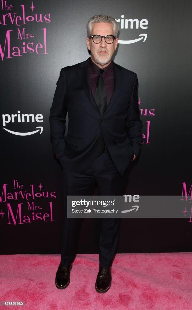 Ken Lipton attends 'The Marvelous Mrs. Maisel' New York Premiere at Village East Cinema on November 13, 2017 in New York City.