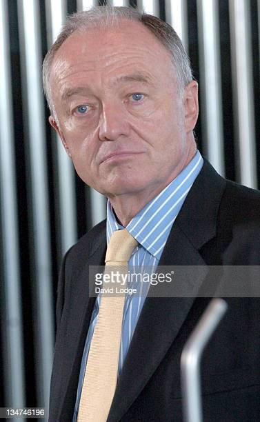 Ken Livingstone during The Times BFI London Film Festival 2006 News Conference and Photocall at City Hall in London Great Britain