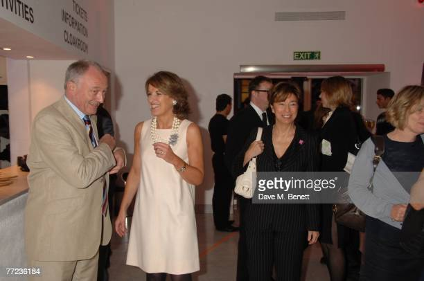 Ken Livinstone and Veronica Wadley attend The Evening Standard's 1000 most Influential people in London 2007 launch party at the Design Museum on...