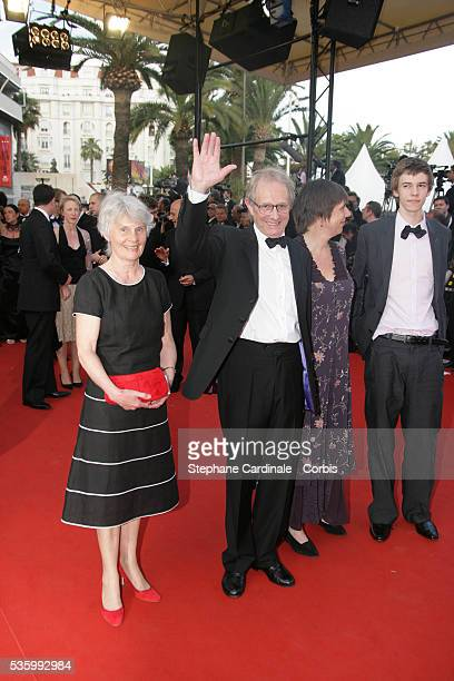 Ken Loach at the premiere of 'Transylvania' during the 59th Cannes Film Festival