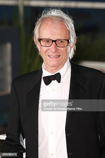 Ken Loach attends the Palm D'Or Winner Photocall during the 69th annual Cannes Film Festival on May 22 2016 in Cannes France
