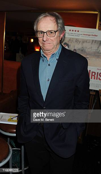 Ken Loach attends the screening of 'Route Irish' at The Curzon Mayfair on March 14 2011 in London England