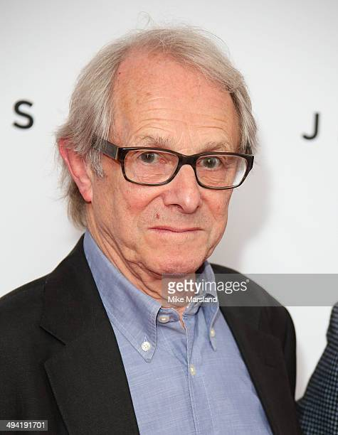 Ken Loach attends the UK Premiere of 'Jimmy's Hall' at BFI Southbank on May 28 2014 in London England