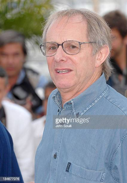 """Ken Loach, director during 2006 Cannes Film Festival - """"The Wind That Shakes The Barley"""" - Photocall at Palais Du Festival in Cannes, France."""