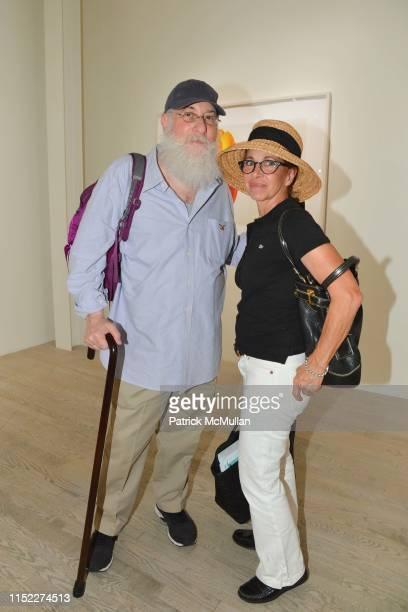Ken Lubin and Bridget de Socio attend Joel Grey The Flower Whisperer at Staley Wise Gallery on June 26 2019 in New York City