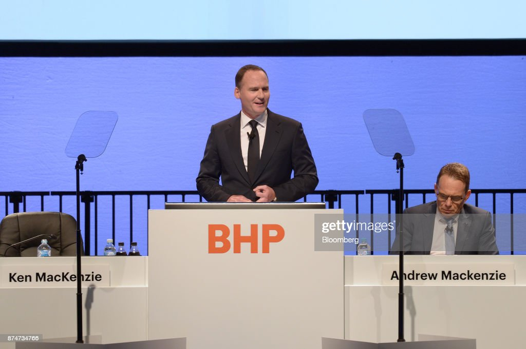 BHP Billiton Chairman Ken MacKenzie Attends Shareholder Meeting