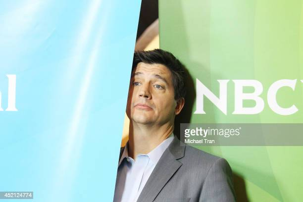 Ken Marino arrives at NBCUniversal's 2014 Summer TCA Tour Day 1 held at The Beverly Hilton Hotel on July 13 2014 in Beverly Hills California