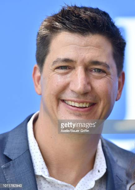 Ken Marino arrives at the premiere of LD Entertainment's 'Dog Days' at Westfield Century City on August 5 2018 in Century City California