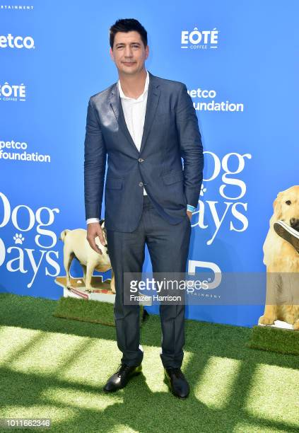 Ken Marino attends the Premiere of LD Entertainment's 'Dog Days' at Westfield Century City on August 5 2018 in Century City California