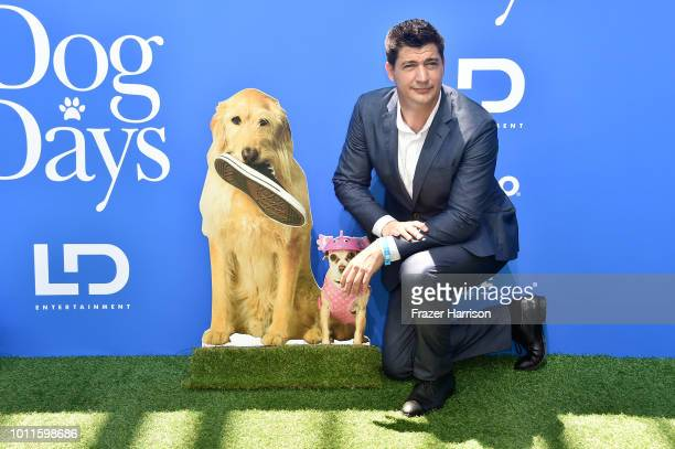 Ken Marino attends the preparty for the premiere of LD Entertainment's 'Dog Days' at Westfield Century City on August 5 2018 in Century City...
