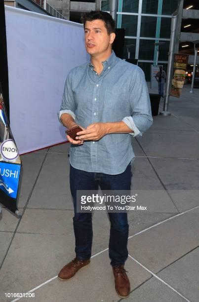 Ken Marino is seen on August 13 2018 in Los Angeles CA