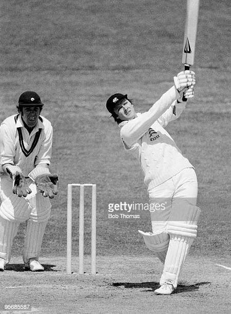 Ken McEwan batting for Essex during his innings of 112 in their County Championship match against Northamptonshire at the County Ground in...