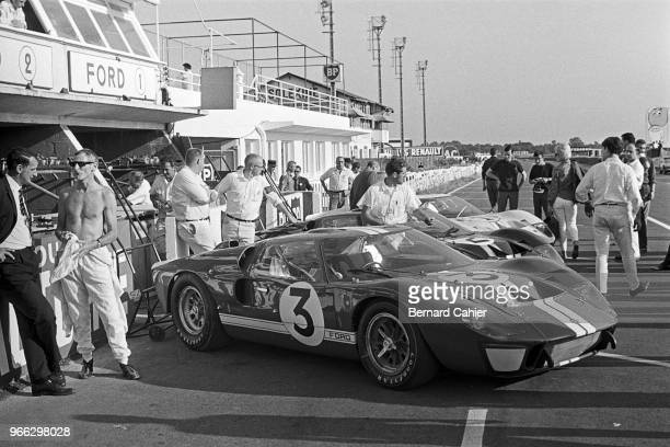 Ken Miles Ford MkII 24 Hours of Le Mans Le Mans 19 June 1966 Ken Miles during practice for the 1966 24 Hours of Le Mans