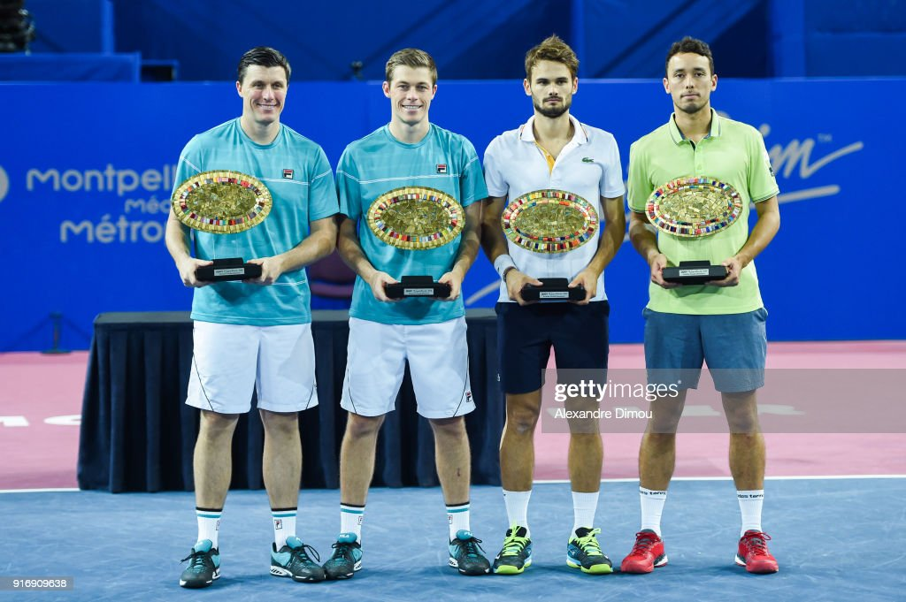 Open Sud of France - ATP Montpellier : News Photo