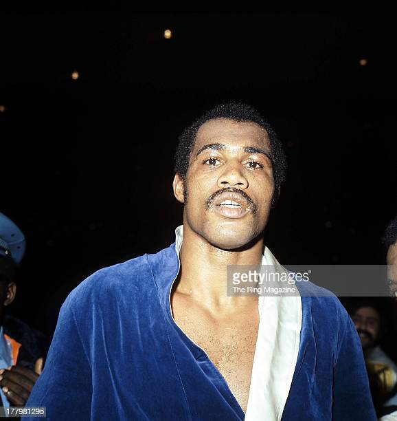 Ken Norton gets ready for the fight against Muhammad Ali at Forum Inglewood California Muhammad Ali won the NABF heavyweight title by a SD 12