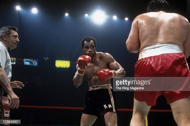 Ken Norton looks to throw a punch against Ron Stander during the fight at Capital Centre in Landover Maryland Ken Norton won by a TKO 5