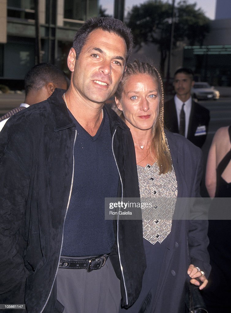 ken olin and patricia wettig during courage under fire los angeles