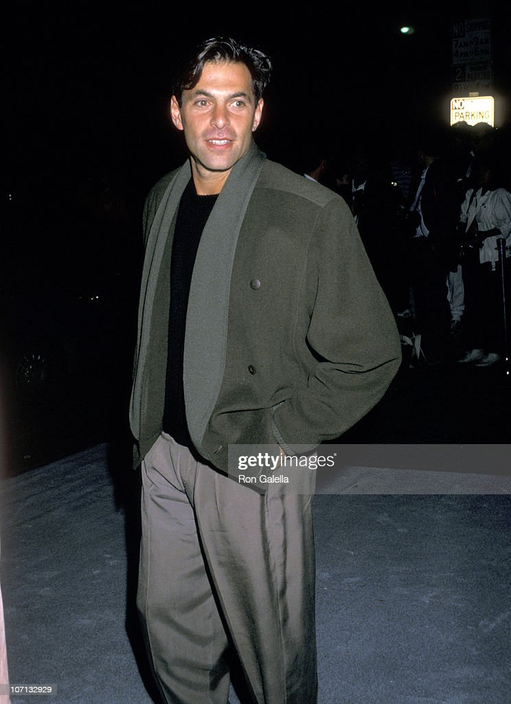Ken Olin during Starlight Foundation Benefit - September 22, 1988 at Ed Debevic's Restaurant in Beverly Hills, California, United States.