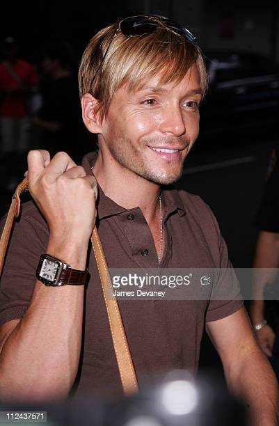 Ken Paves during Jessica Simpson Arrives at MTV's TRL Studios August 29 2006 at MTV Studios Times Square in New York City New York United States