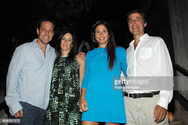 Ken Pilot Sara Pilot Wendy Clurman and Michael Clurman attend GUCCI Cristina Chris Cuomo and Stephanie and David Wolkoff's Midsummer Night's Dinner...