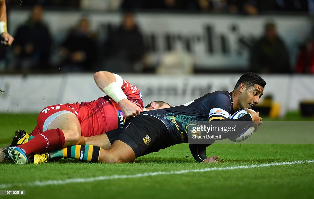 Northampton Saints v Scarlets - European Rugby Champions Cup