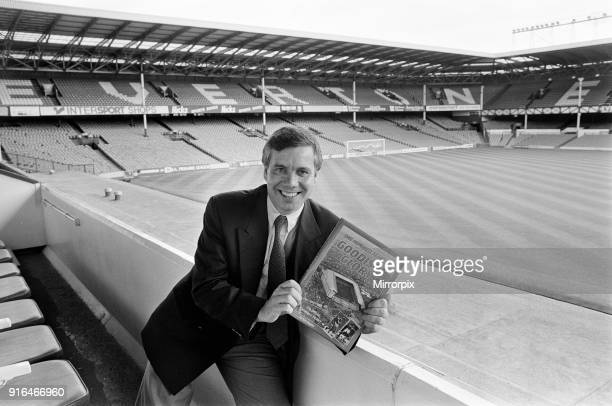 Ken Rogers, Book launch, One Hundred Years of Goodison Glory, The Official Centenary History, Photo-call at Goodison Park, home of Everton Football...