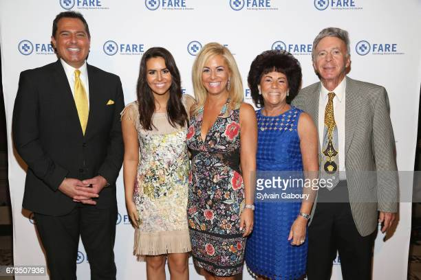 Ken Rosato Heather Braverman Abbey Braverman Joan Jacobson and Jay Jacobson attend 18th Annual FARE Spring Luncheon presented by Food Allergy...