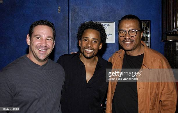 Ken Rosenfeld Hill Harper Billy Dee Williams during VH1's Pilot The Hill Harper Show Screening Party at BB Kings Blues Club in Universal City...
