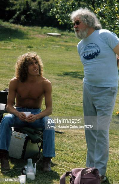 Ken Russell directs Roger Daltrey of The Who in the film version of the rock opera 'Tommy' in 1975 Ken Russell took part in Celebrity Big Brother...