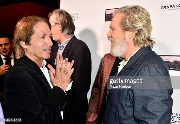 Ken S Polk Jeff Bridges attend Vision Films' 'Living In The Future's Past' at Ahrya Fine Arts Theater on October 2 2018 in Beverly Hills California