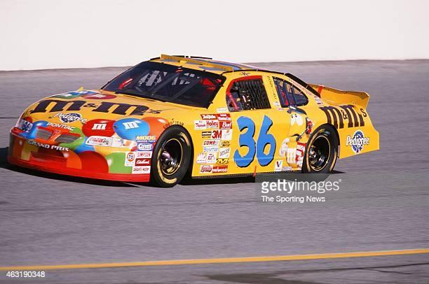 Ken Schrader drives his car during the Daytona 500 at the Daytona International Speedway on February 16 2001 in Daytona Beach Florida