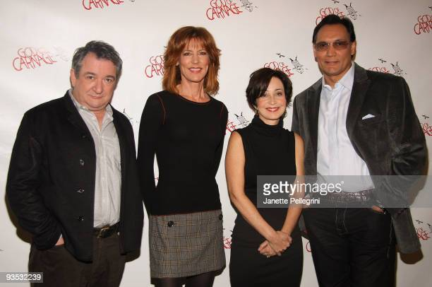 Ken Scott Christine Lahti Annie Potts and Jimmy Smits attend a meet and greet with the cast of Broadway's 'God of Carnage' at Etcetera Etcetera on...