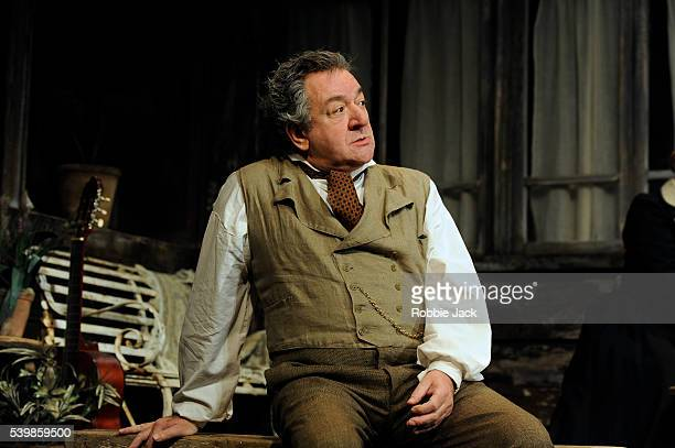 Ken Stott as Uncle Vanya in Anton Chekhov's Uncle Vanya directed by Lindsay Posner at the Vaudville Theatre in London
