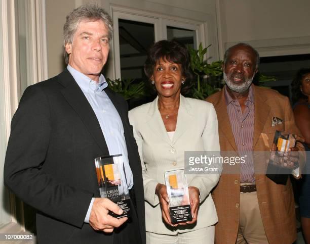 Ken Sunshine Congresswoman Maxine Waters and Clarence Avant