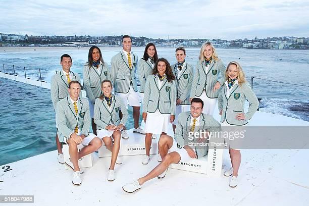 Ken Wallace, Jamie Dwyer, Louise Bawden, Taliqua Clancy, Ed Jenkins, Charlotte Caslick, Jessica Fox, Penny Taylor, Annette Edmondson and Kaarle...