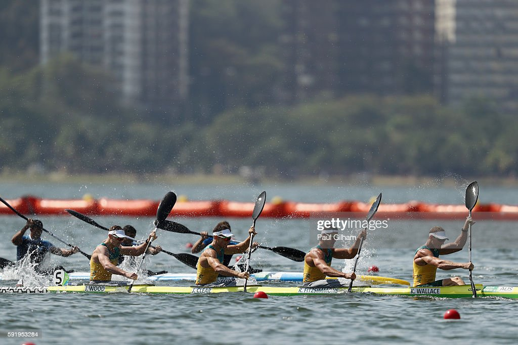 Canoe Sprint - Olympics: Day 14 : News Photo