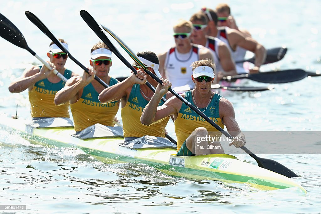 Canoe Sprint - Olympics: Day 14 : News Photo