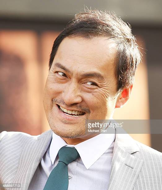 Ken Watanabe arrives at the Los Angeles premiere of 'Godzilla' held at Dolby Theatre on May 8 2014 in Hollywood California