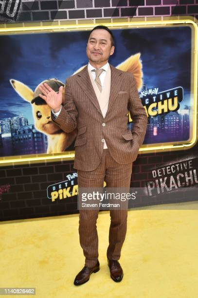Ken Watanabe attends the premiere of Pokemon Detective Pikachu at Military Island in Times Square on May 2 2019 in New York City