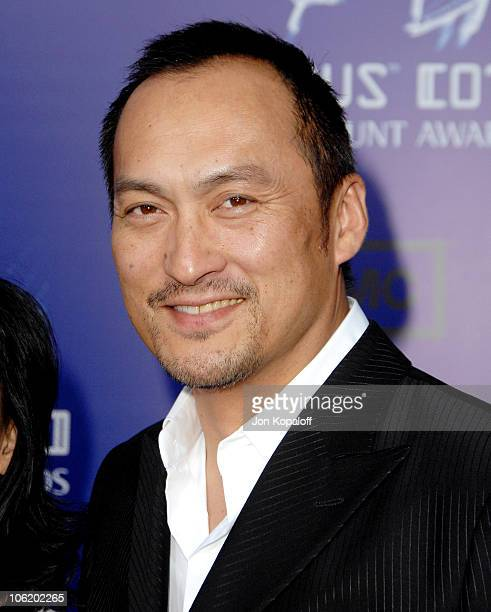 Ken Watanabe during 2007 Taurus World Stunt Awards - Arrivals at Paramount Studios in Los Angeles, California, United States.