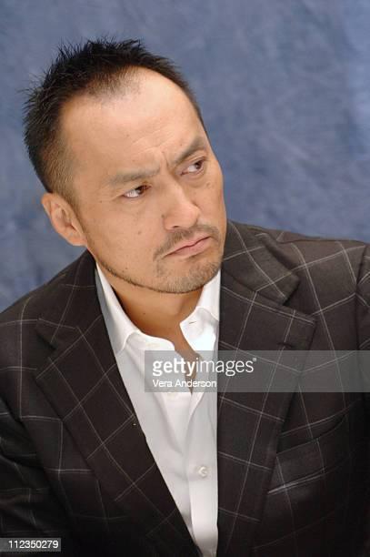 Ken Watanabe during 'Memoirs of a Geisha' Press Conference with Ziyi Zhang director Rob Marshall composer John Williams Ken Watanabe at Four Season's...