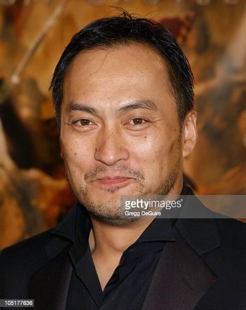 Ken Watanabe during 'The Last Samurai' Los Angeles Premiere at Mann Village Theatre in Westwood California United States