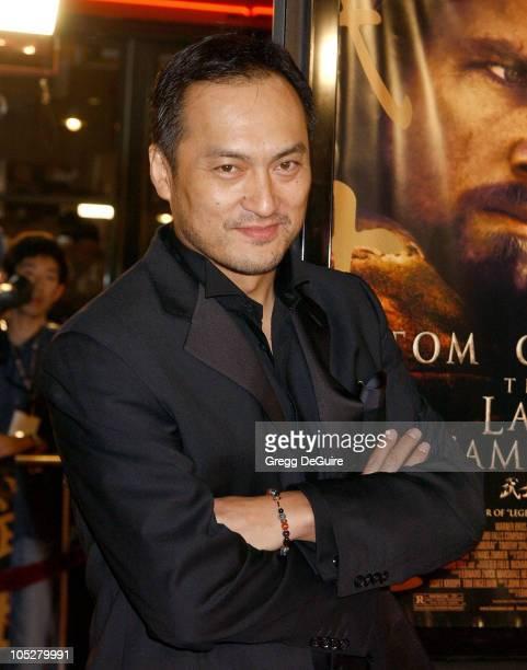 "Ken Watanabe during ""The Last Samurai"" Los Angeles Premiere at Mann Village Theatre in Westwood, California, United States."