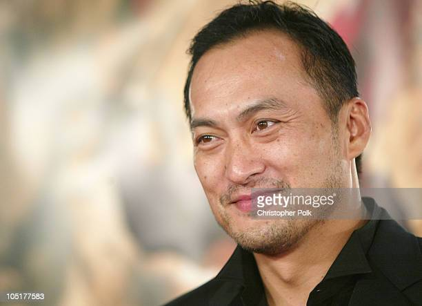 Ken Watanabe during 'The Last Samurai' Los Angeles Premiere at Mann's Village Theater in Westwood California United States